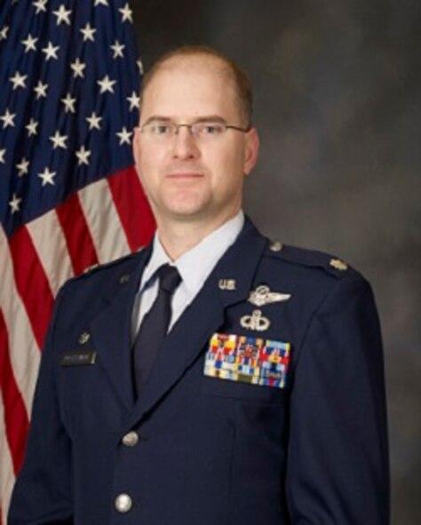 Lt..Col. Brett Bosselmann, 225th Air Defense Squadron commander
