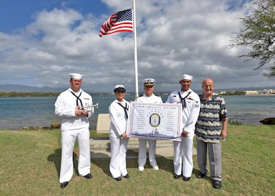 Joint Base Pearl Harbor Hickam Commemorates Uss Nevada