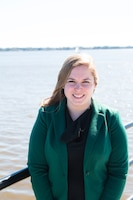 Holly Carpenter is the Charleston District's newest project manager, currently working on the Charleston Harbor Post 45 Deepening Project.