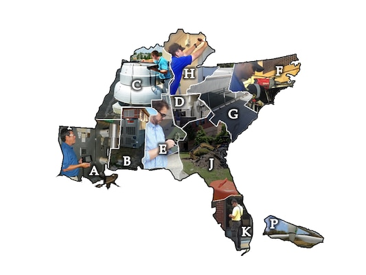 The Charleston District does a wide variety of work for the 81st Regional Support Command throughout the southeastern United States.