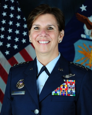 Air Force Gen. Lori J. Robinson commands Pacific Air Forces and is air component commander for U.S. Pacific Command. Air Force photo