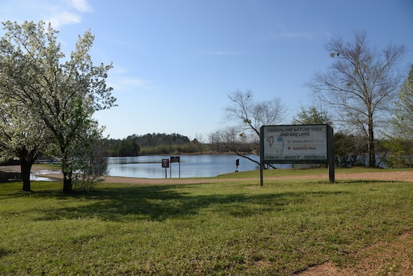 SAC Lake is located near perimeter road on Columbus Air Force Base, Mississippi. There are two picnic areas on Columbus AFB; one at SAC Lake and another along the willow oak trail. (U.S. Air Force photo/Airman 1st Class John Day)