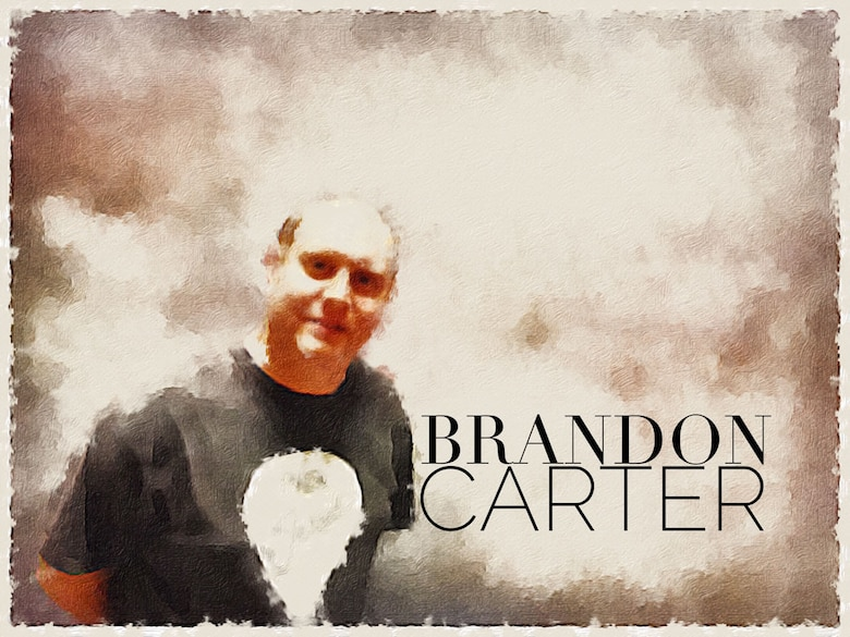 Brandon Carter (U.S. Air Force photo illustration by Claude Lazzara)