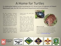 The projected increase in turtle populations as a result of this project will provide the general public with more opportunities for wildlife observation and photography at Edward MacDowell Lake and naturalist led interpretive programs to demonstrate habitat enhancements.