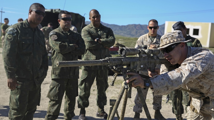 Marines from two continents aim to exchange expertise ...