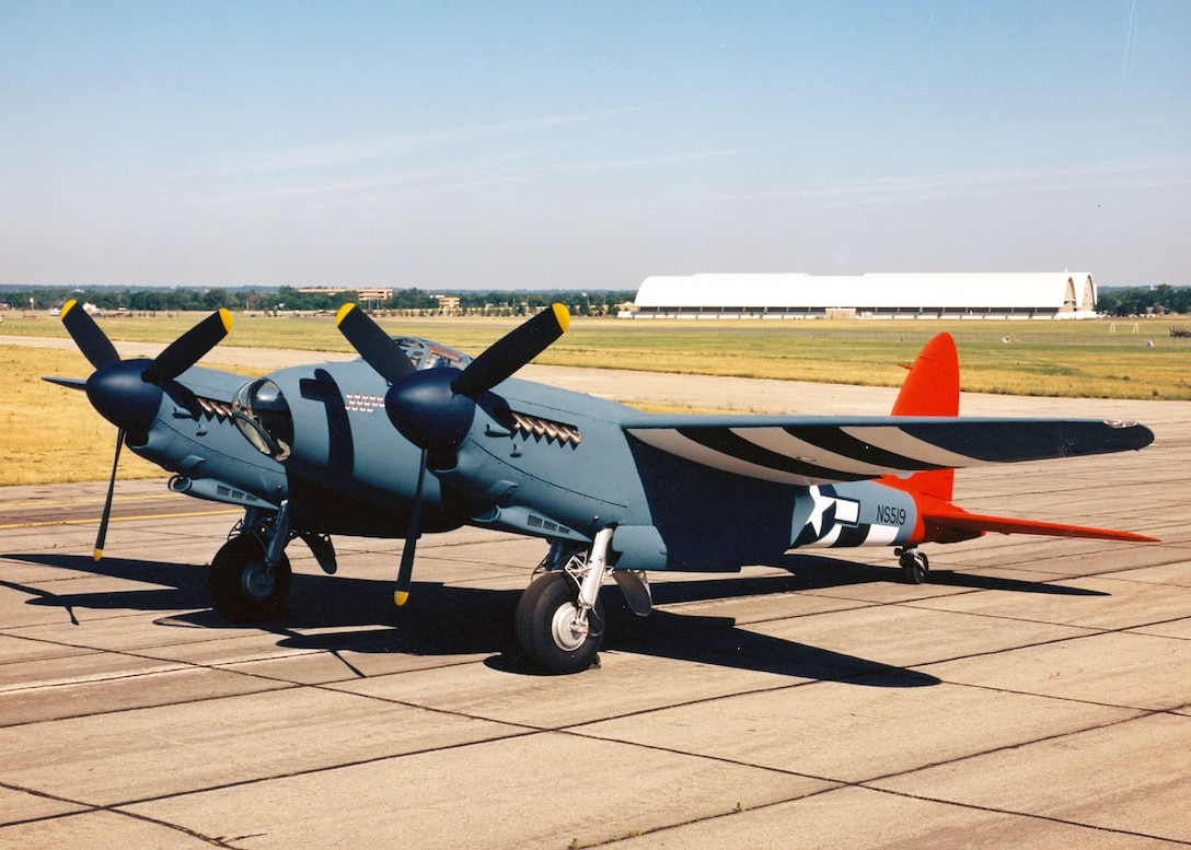 De Havilland DH 98 Mosquito at the National Museum of the United States Air Force. (U.S. Air Force photo)