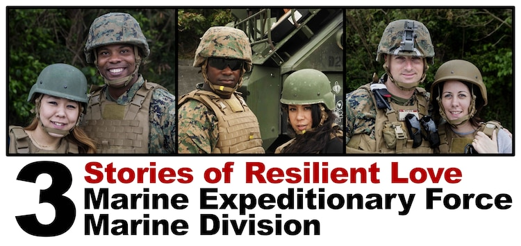 Three couples in III Marine Expeditionary Force share their personal stories of life, resiliency and struggle. Each unique story paints a picture of remaining faithful despite trials and tribulations.  Find out how these couples turned cultural differences, physical separation and newlywed stress into a source of strength.