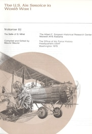 Book cover: The Battle of St. Mihiel, edited by Maurer Maurer