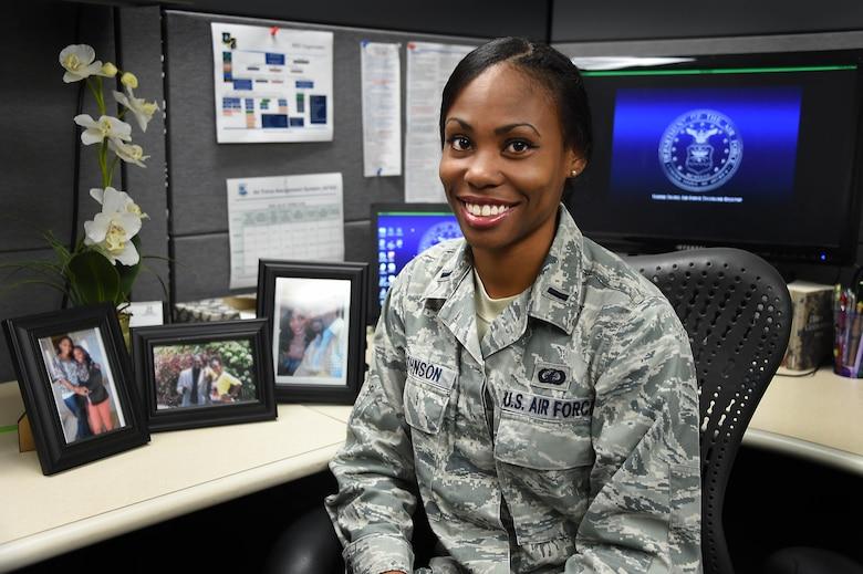 1st Lt. Tanesha Johnson