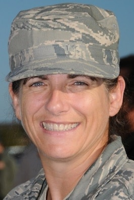Master Sgt. Katherine Wheelock is the engine manager for the 403rd Maintenance Group, Keesler Air Force Base, Mississippi