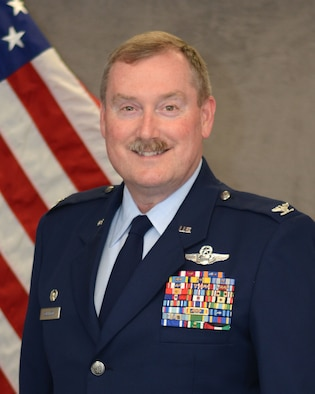 Official photo of Col. Douglas E. Gullion, taken March 23, 2016, at Tinker Air Force Base. (U.S. Air Force photo by Tech. Sgt. Lauren Gleason)