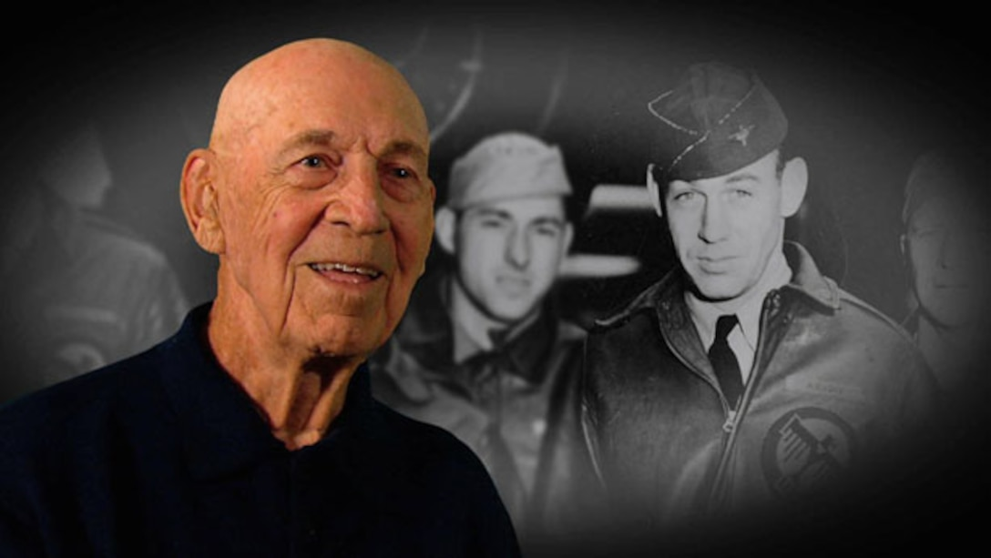 """""""One Hundred Years A Hero,"""" a new biopic documenting the extraordinary life and career of Lt. Col. (Ret.) Richard E. Cole, will premiere April 22, 2016, in the Air Force Museum Theatre. (Photo provided)"""