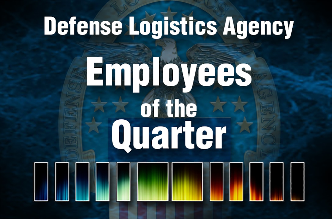 Lula A. Lacy, a management support assistant for DLA Distribution; Ian G. Ladner, an energy management specialist for DLA Energy; and Edward G. Guthrie, deputy director of DLA Energy's Defense Fuel Support Point Okinawa, are the DLA Employees of the Quarter winners for the 1st Quarter of fiscal 2016.