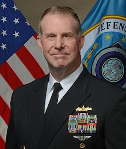 Official portrait of Navy Captain Scott Norr, American Forces Radio and Television Service.