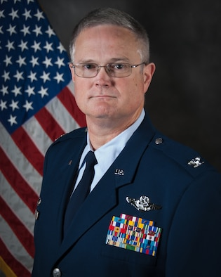 Col. Dave Mounkes has been selected as next commander of 123rd Airlift Wing, effective April 16, 2016. Mounkes currently serves as commander of the Kentucky Air National Guard's 123rd Contingency response Group. (U.S. Air National Guard photo by Master Sgt. Phil Speck)
