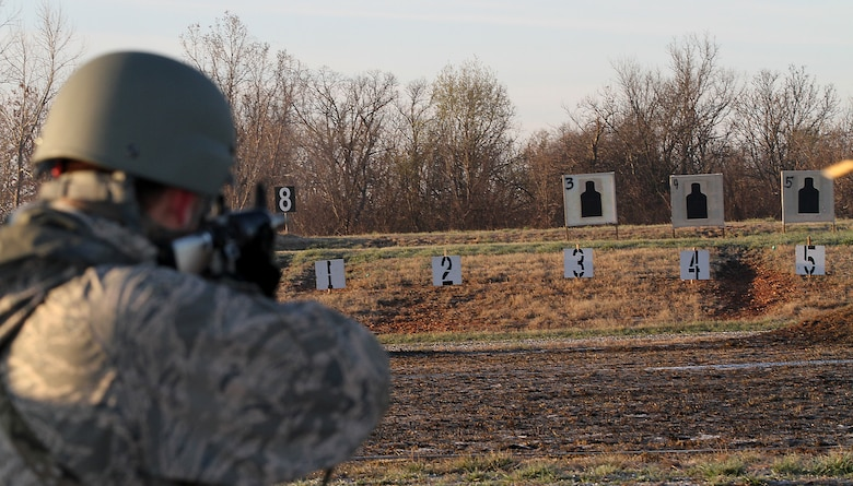 More than 100 Soldiers and Airmen shot their way through the annual Missouri National Guard's 2016 State Adjutant General State Combat Match Rifle/Pistol Championships at Camp Crowder, Mo (Courtesy photo)