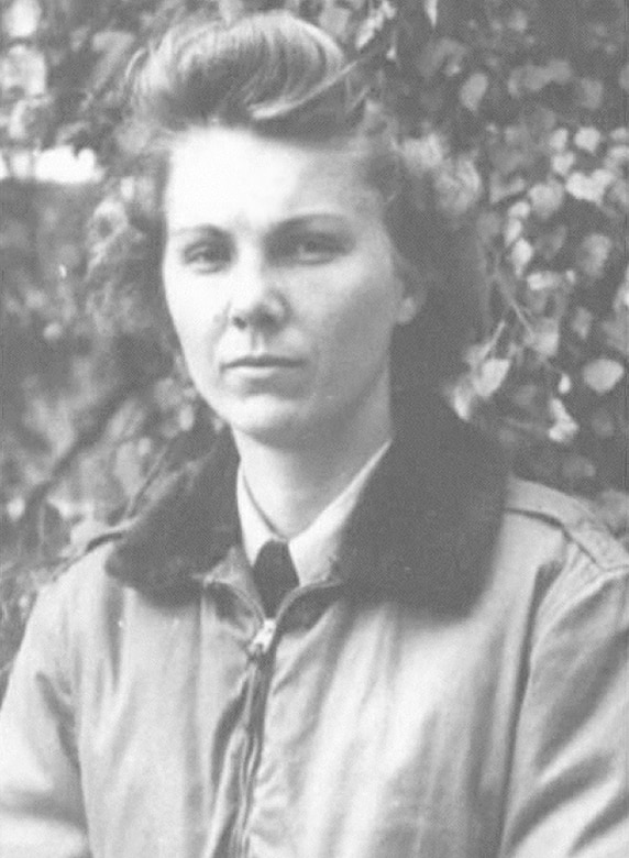 Lt. Reba Z. Whittle was an Air Force flight nurse who served during World War II. She became the only female U.S. military member held prisoner of war in the European Theater.  (Air Force photo)