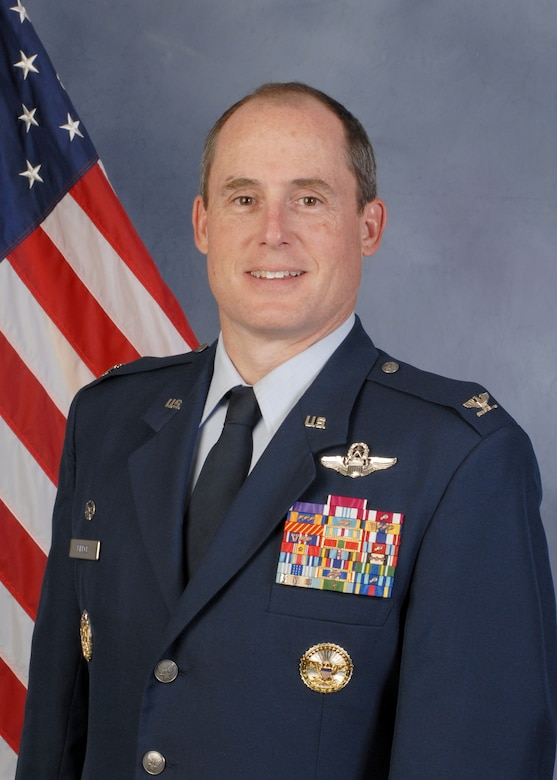 U.S. Air Force Colonel Kirk Pierce, 173rd Fighter Wing Commander, will be promoted to Brigadier General in a ceremony at Kingsley Field, April 3.  Pierce has been selected for a senior staff position a the National Guard Bureau in Washington D.C. (U.S. Air National Guard photo by Senior Airman Penny Snoozy/released)