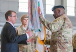 Votel takes command at CENTCOM