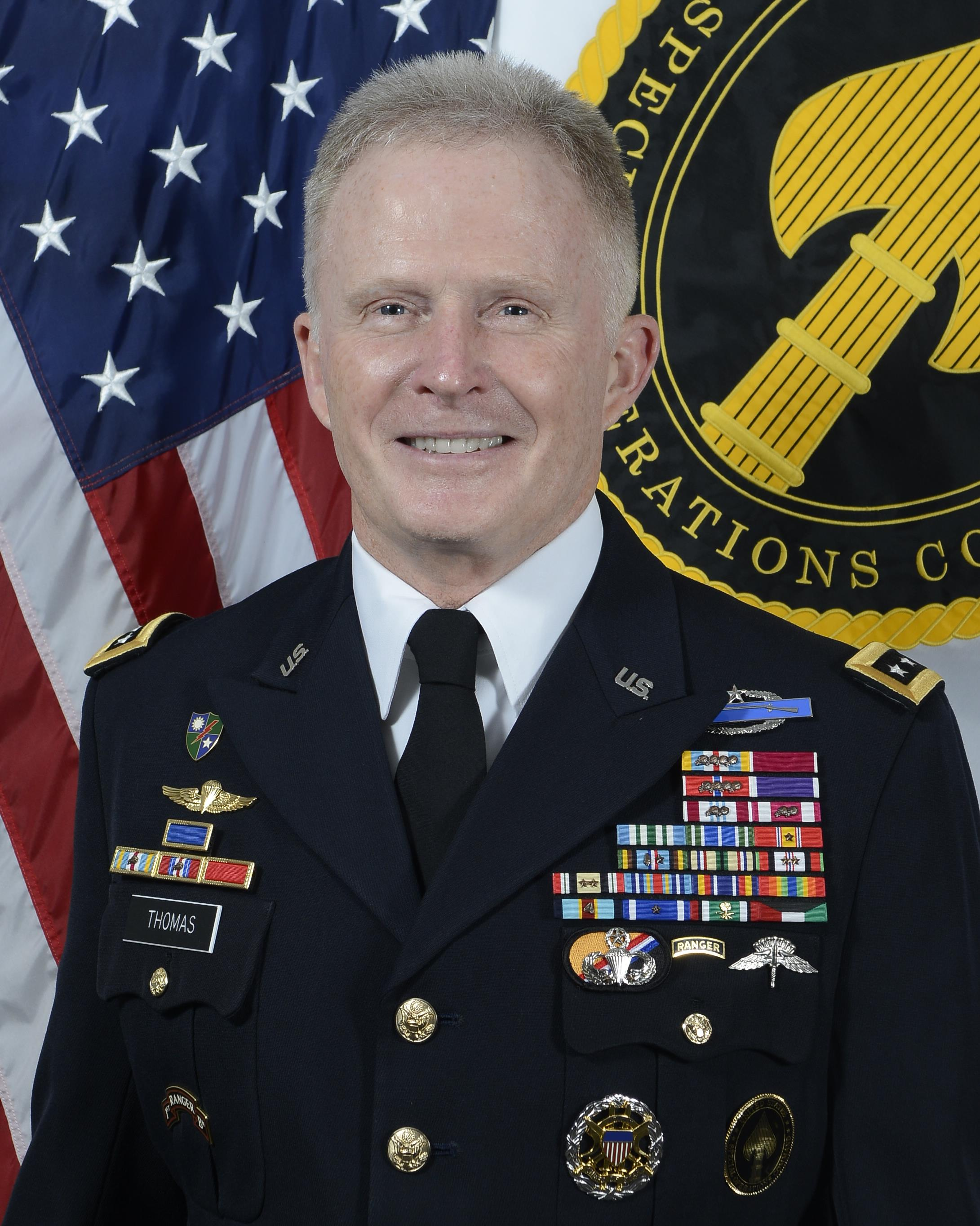 General Raymond A Thomas Iii Us Department Of Defense