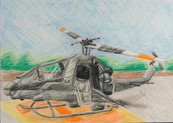 More than 130 pieces of art created by local students from schools across the Miami Valley will be on display at the National Museum of the U.S Air Force during the 33rd Annual Student Aviation Art Competition and Exhibition. The exhibit will be open from April 2-May 1, 2016. (U.S. Air Force photo)