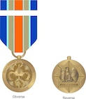 """On March 30, 2016, the President signed an Executive Order titled, """"Establishing the Inherent Resolve Campaign Medal"""" based on the recommendations of Secretary of Defense and Chairman of the Joint Chiefs of Staff.  Today, the Secretary of Defense officially announced the Inherent Resolve Campaign Medal (IRCM), which distinctly recognizes our Service members battling terrorist groups in Iraq and Syria.   Approximately 11,000 service members are eligible for the new award as of March 30, 2016  (Courtesy artwork)"""