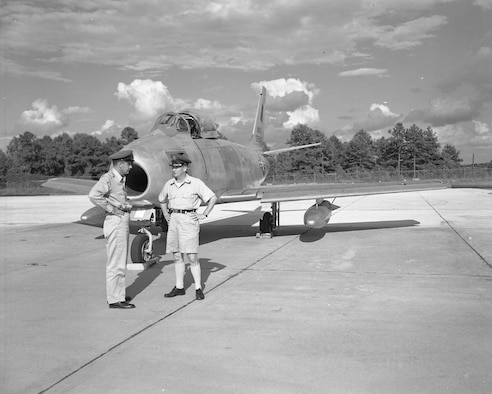 Colonel Payne - Capt. McNeil   F-86E  09/21/57