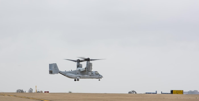 Maj. Gen. William T. Collins, commanding general of 4th Marine Aircraft Wing, Marine Forces Reserve, conducts his final flight with Marine Medium Helicopter Squadron 764 (HMM-764), Marine Aircraft Group 41, 4th MAW, before they officially reached full operational capability at Marine Corps Air Station Miramar, Calif., April 27, 2016. His final flight signified his trust and confidence with the Marines of HMM-764 as they reach their last major milestone to become completely combat ready and deployable.