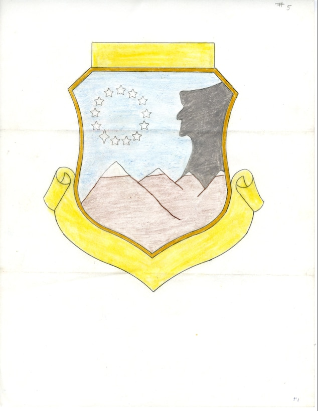 Proposed design for New Hampshire Air National Guard group patch.