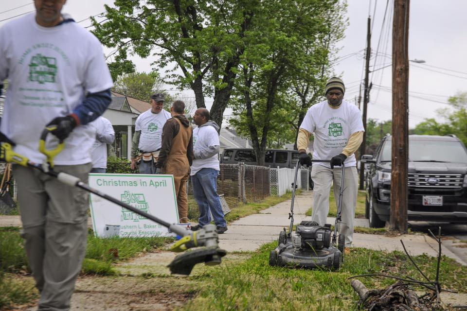 Military Makeover: DC Airmen volunteer to renovate local home