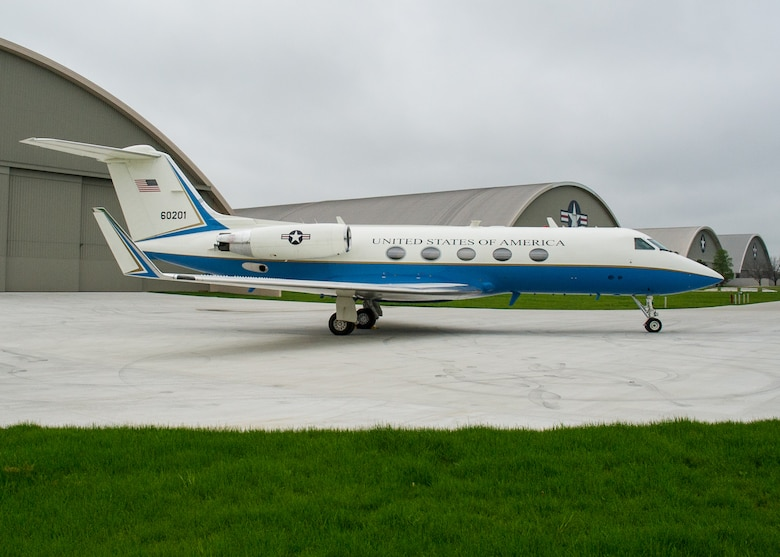 DAYTON, Ohio -- The Gulfstream Aerospace C-20B at the National Museum of the United States Air Force. (U.S. Air Force photo by Ken LaRock)