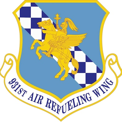 Logo for the 931st Air Refueling Wing.