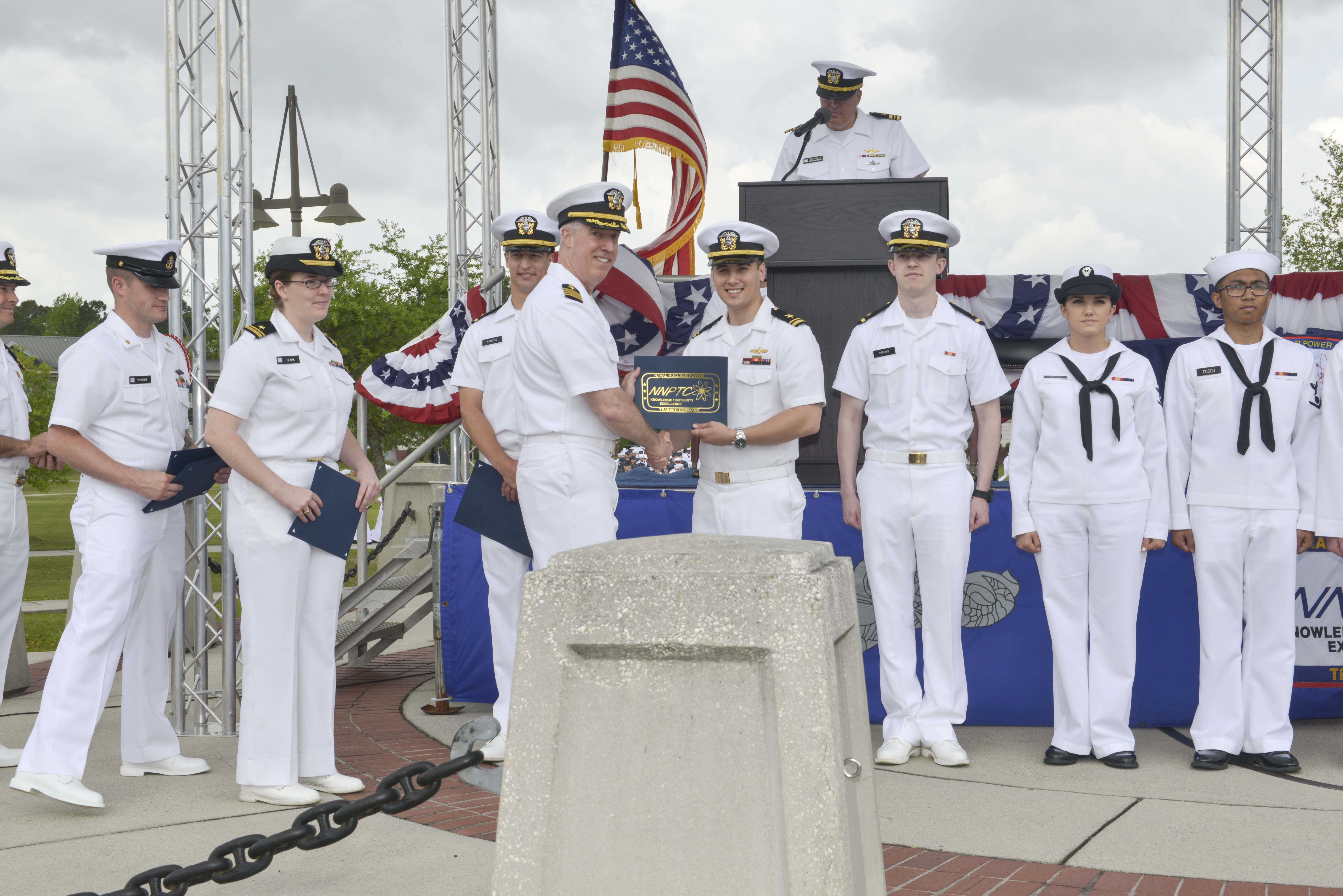 Nnptc Recognizes Excellence During Graduation Joint Base Electricity Basic Navy Training Courses Photo Details Download