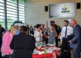 Members of the Pittsburgh District's Small Business and Contracting offices meet with business owners during the Dynamic Networking for Small Business Event 2016 April, 27.