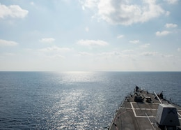 SOUTH CHINA SEA (May 02, 2016) - The guided-missile destroyer USS William P. Lawrence (DDG 110) conducts a routine patrol in international waters in the 7th Fleet Area of Operations in support of security and stability in the Indo-Asia-Pacific. (U.S. Navy photo by Mass Communication Specialist 3rd Class Emiline L. M. Senn/Released)