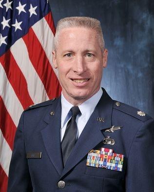 Lt. Col. L. William Uhl (U.S. Air Force photo/Bill Evans)