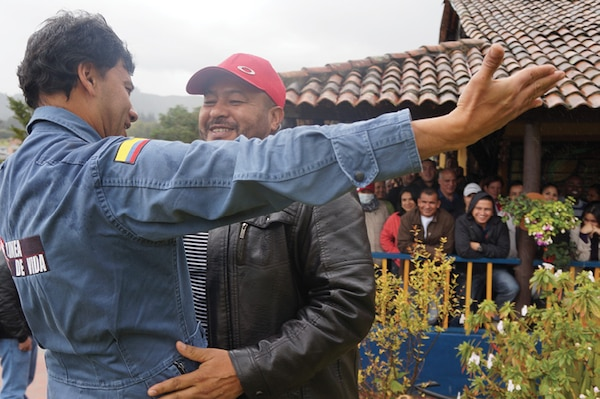 Over 100 participants receive training from Colombia's Agency for Reintegration, a government organization devoted to the reintegration of members of illegal armed groups who voluntarily demobilize, either individually or collectively.