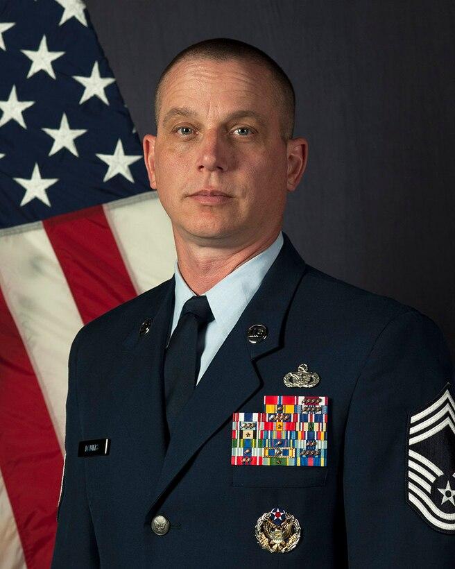 CMSgt Thomas Daniels (U.S. Air Force photo)