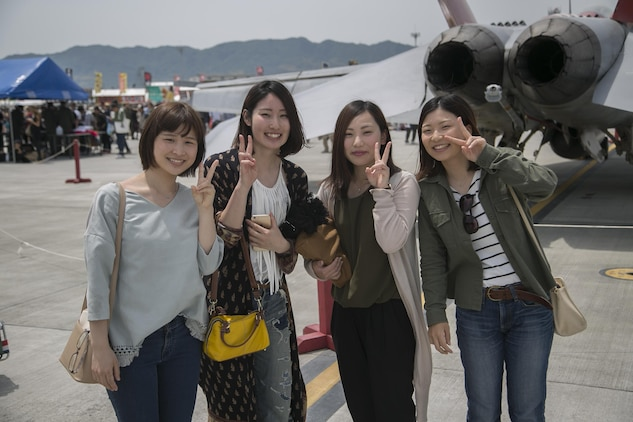 Marine Corps Air Station Iwakuni hosted friendship day May 5, 2016. Since 1973, MCAS Iwakuni has conducted a single-day air show and open house specifically designed to foster positive relationships between the air station and our Japanese hosts, and the event traditionally draws more than 200,000 visitors and participants. This year is the 40th Friendship Day, offering a culturally enriching experience that displays the mutual support that the U.S. and Japan share. This annual event showcases a variety of static displays, aviation performances and demonstrations, and provides food and entertainment for guests of the largest single-day event in Iwakuni. (U.S. Marine Corps photo by Lance Cpl. Douglas Simons/Released)