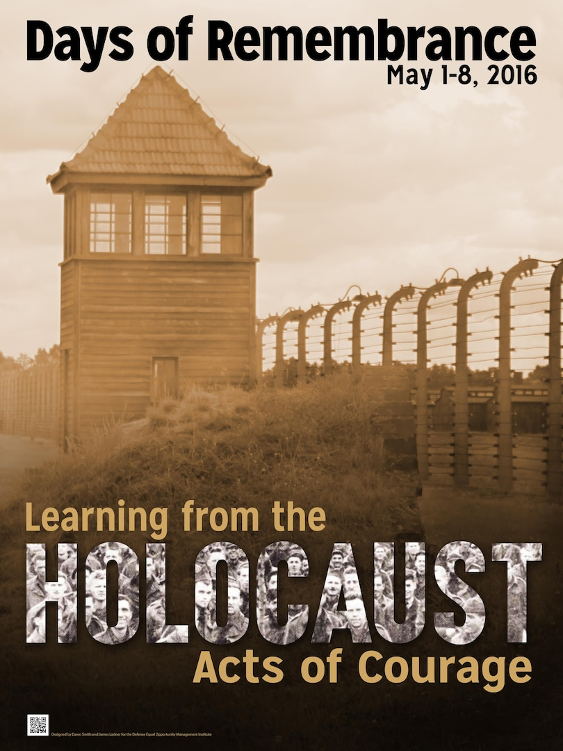 DLA Distribution reflects on today as Holocaust Remembrance Day (Yom Hashoah).  The United States Congress established the Days of Remembrance as our nation's annual commemoration of the victims of the Holocaust and created the United States Holocaust Memorial Museum as a permanent, living memorial to those victims.