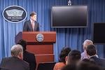 Pentagon Press Secretary Peter Cook