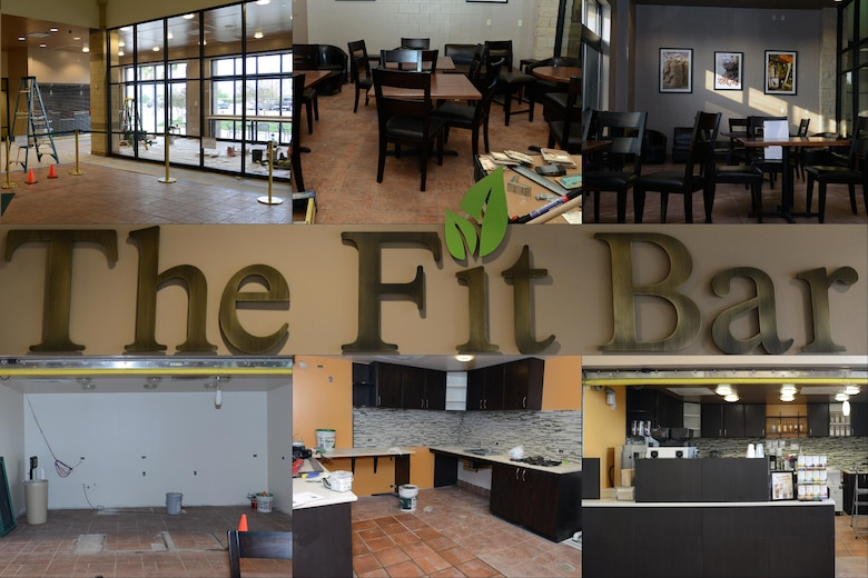 The Fit Bar is scheduled to have its grand opening ceremony at the Losano Fitness Center on Laughlin Air Force Base, Texas, May 16, 2016. The Fit Bar will provide Laughlin personnel with healthy snacks and foods and a quiet place to relax. (U.S. Air Force photo/Senior Airman Jimmie D. Pike)