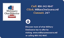 Military OneSource Flier - What can Military OneSource do for you?