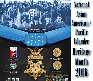 National Asian American / Pacific Islander Heritage Month 2016