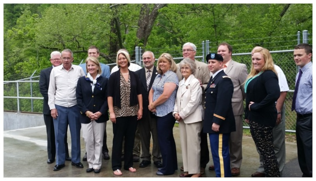 On  May 3, 2016 the Town of Clay, W.Va. dedicated its newly upgraded water treatment plant as part of a Section 571, Environmental Infrastructure Program, project.