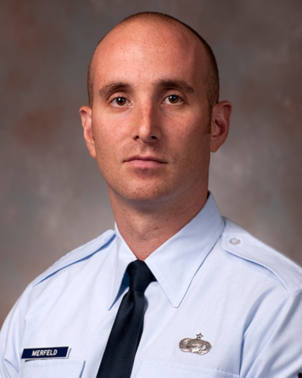 Tech. Sgt. Joseph Merfeld is one of five members of the Air Force inaugural class enrolled in the Enlisted to Medical Degree Preparatory Program. The Enlisted to Medical Degree Preparatory Program is a partnership between the Armed Services and Uniformed Services University. Designed for enlisted service members, the two-year program enables members to remain on active duty status while enrolled as full-time students in preparation for application to medical school. (Courtesy photo)