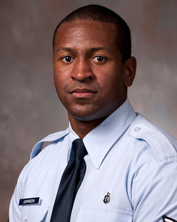 Tech. Sgt. Kenneth Johnson is one of five members of the Air Force inaugural class enrolled in the Enlisted to Medical Degree Preparatory Program. The Enlisted to Medical Degree Preparatory Program is a partnership between the Armed Services and Uniformed Services University. Designed for enlisted service members, the two-year program enables members to remain on active duty status while enrolled as full-time students in preparation for application to medical school. (Courtesy photo)