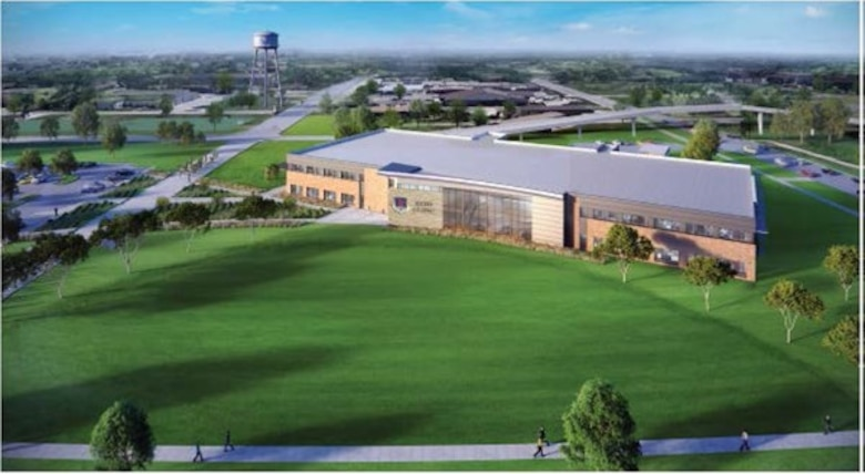 The new Reid Clinic will be built on Joint Base San Antonio-Lackland across from its current location on Hughes Avenue. Construction for the facility is founded on evidence-based design principles, creating a patient-centered environment while improving the quality and safety of health care. (Courtesy image)