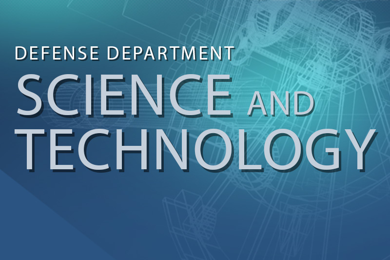 Graphic for DoD Science and Technology Special Report.