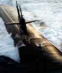 U.S. Navy SSBN surfaces